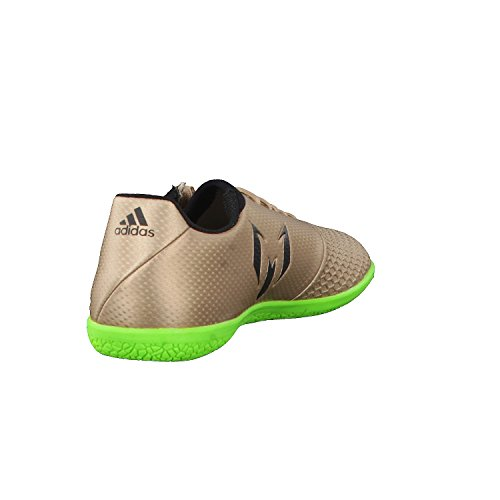 adidas Kinder Fussballschuhe MESSI 16.3 IN J COPPMT/CBLACK/SGREEN 28