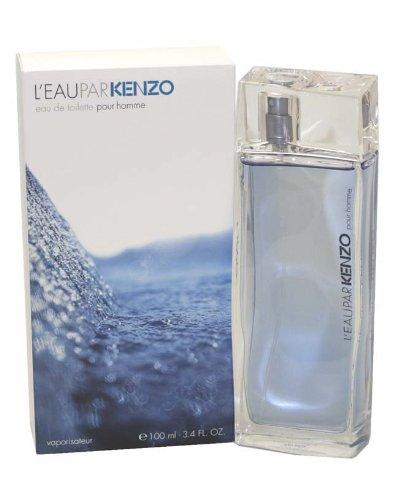 L'eau Par Kenzo Pour Homme by Kenzo 3.4 oz Eau de Toilette Spray