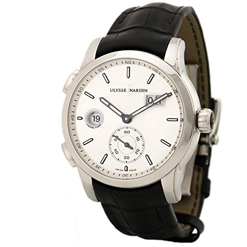 Ulysse Nardin Dual Time Swiss-Automatic Male Watch 3343-126-91 (Certified Pre-Owned)