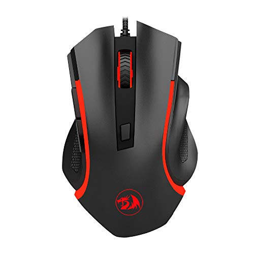 - Redvive Top Redragon 6 Button USB Gaming Mouse Ergonomic Design Desktop Computer Accessories Mice