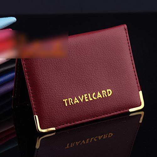 Della Viola Carta Al Purple Passaporto Lavoro Bancaria Da Viaggio Fuori Scuro Protezione Rosso Di Permesso Dress Scheda Light Cartella PdxB7awqzz