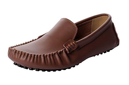 CAIHEE-Mens-Casual-Leather-Penny-Loafers-Breathable-Slip-On-Driving-Shoes
