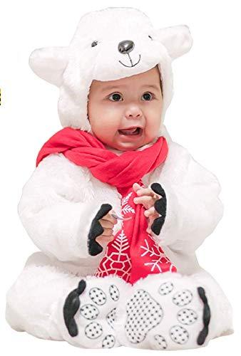 Animal Costume for Baby - Cute Polar Bears Whole Body Cosplay -