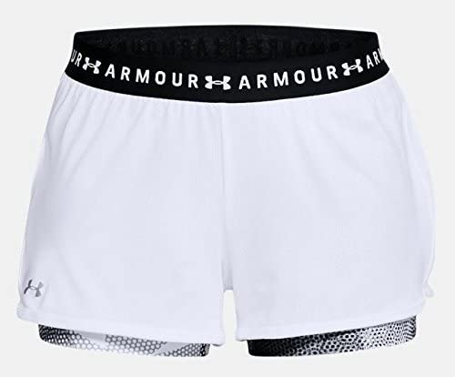Under Armour HG Armour 2-in-1 Print Short Pantal/ón Corto Mujer