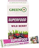 Cheap Greens+ Organic Superfood Wild Berry | Essential Blend of Raw Green Foods, Superfruits and Sea Vegetables | Vegan | USDA Organic | Dietary Supplement | Non-GMO, Soy Dairy & Gluten-Free | 15 Stickpack