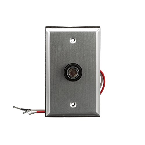 Motion Control Plates Charge (Woods 59409WD Outdoor Hardwired Post Eye Light Control and Wall Plate, Metallic Finish)