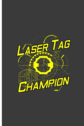 Champions Laser Tag - Laser Tag Champion: Good Laser Tag Player Perfect Gift Dot Grid Notebook/Journal (6
