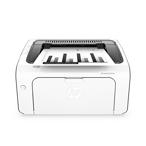 HP Laserjet Pro M12w Wireless Laser Printer, Amazon Dash Replenishment Ready (T0L46A)