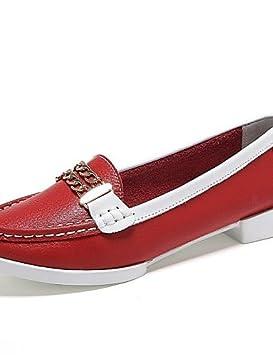 Zapatos de mujer - Tacón Plano - Comfort / Punta Redonda - Mocasines - Casual -