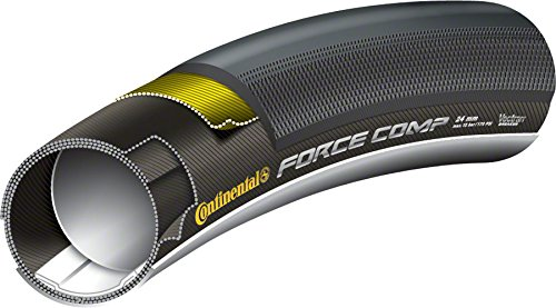 Continental Force Compression Black Chili Rear Tire, 28 x 24cc
