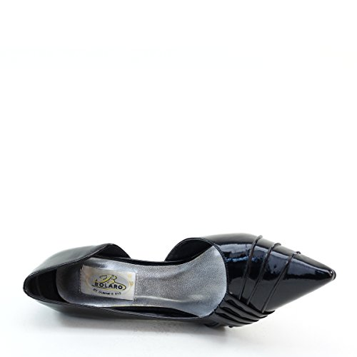 New Brieten Womens Pointy Toe Kitten Heel Hot Dress Pumps pbzSTT