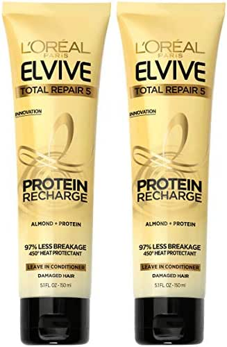 Shampoo & Conditioner: L'Oreal Paris Elvive Total Repair Protein Recharge