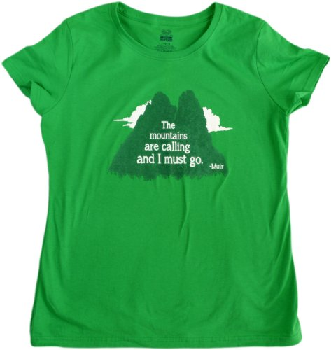 The Mountains are Calling, and I Must Go | Backpacking, Hiking Ladies' T-shirt