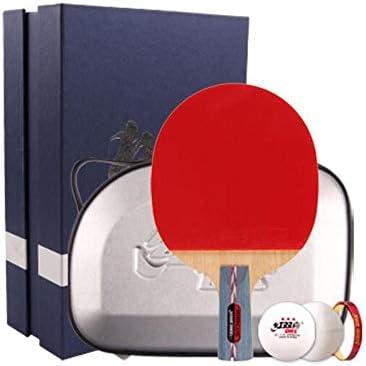 Kalmar 卓球ラケット、傲慢なペンホールド、両面アンチスティックラケット(卓球セット付き) Professional Training/Recreational Racquet Kit