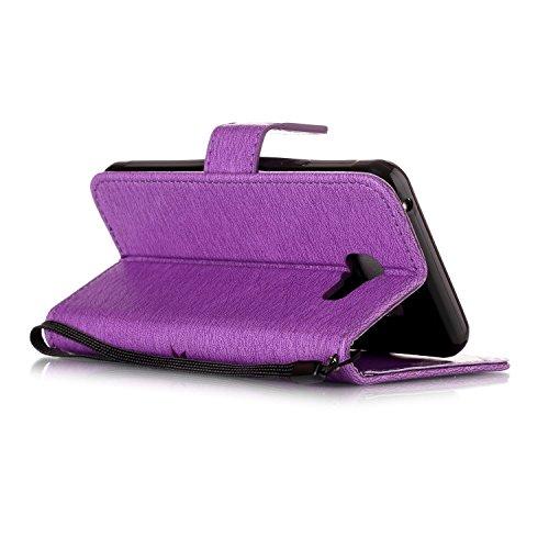 """iPhone 7 Plus Hülle Tasche Schutzhülle Case Cover Bumper Geldbeutel und Anti-Scratch Löschen Back für Apple iPhone 7 Plus 5.5 Plus"""" Rosa"""