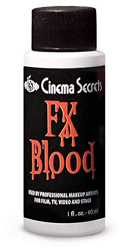 Cinema Secrets Woochie FX Essentials Blood - Professional Quality Halloween and Costume Makeup - 1 oz.