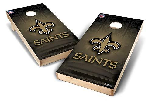 PROLINE NFL New Orleans Saints 2'x4' Cornhole Board Set - Wild Design