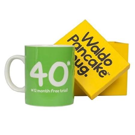 Waldo Pancake Taza - 40 cumpleaños: Amazon.es: Hogar