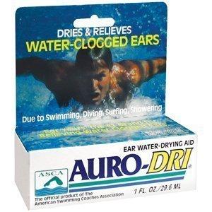 Auro-Dri Ear Drying Aid 1oz. by Del Laboratories, Inc.
