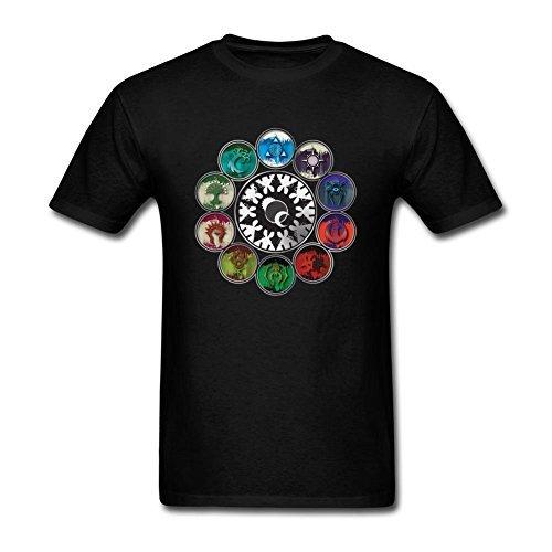 [JuDian Magic The Gathering MTG Guild Art T Shirt For Men] (Guilds Magic)