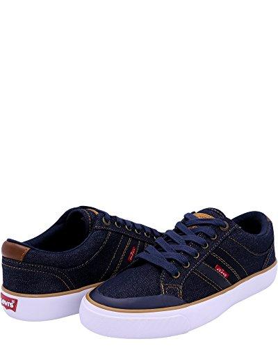Levis Heren Haffman Denim Sneakers Marine / Denim