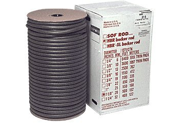 1-1/4'' Closed Cell Backer Rod - 400 ft Bulk Box by C.R. Laurence