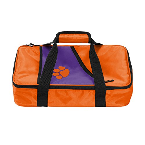 NCAA Clemson Casserole Caddy, One Size, Multicolor by Logo Brands