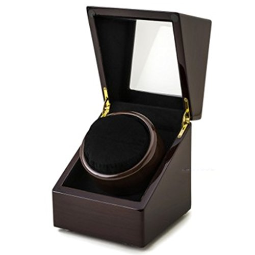 L-life Watch Winders Watch Winder Mini Safety Cabinet Specially Designed for Shaking Table, Piano, Lacquer, Five Model Rotating Table Box. (Color : 1+0B)