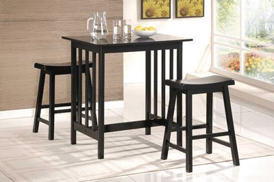 Black Bar Table - 6