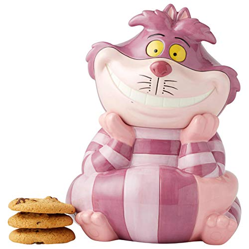 Enesco Disney Ceramics Cheshire Cat Cookie Jar ()