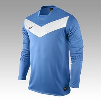 Nike Victory - Camiseta de fútbol para hombre, tamaño XL, color hellblau/blanco: Amazon.es: Ropa y accesorios