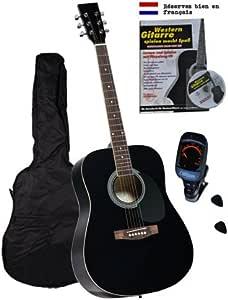 Clifton - Juego de guitarra española con libro, CD de karaoke ...