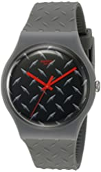 Swatch Men's SUOM102 Analog Display Quartz Grey Watch