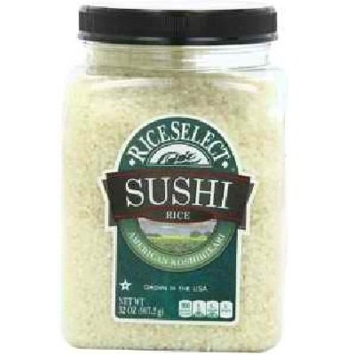 Rice Select BG17660 Rice Select Sushi Rice - 4x32OZ (Sushi Riceselect)