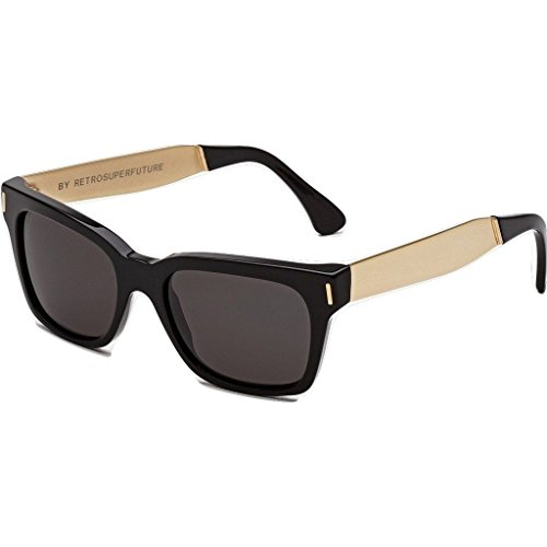 Super Unisex America Francis / Black / Gold - Super America Sunglasses