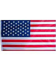 Banderas 90x150cm Internacionales para Decoración en Bares o Fiestas, Club Deportivo, Eventos, Copa Mundial, Festivales y Celebraciones Internacionales | Resistente al intemperie | De poliéster con bordes cosidos y puntadas reforzadas