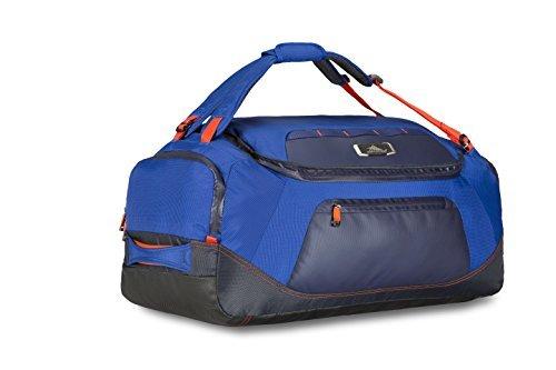 High Sierra AT8 Duffel Backpack, Sapphire/Red Line/True Navy, 26
