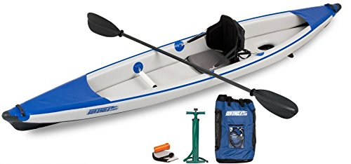 Sea Eagle Razorlite 393rl Inflatable Kayak with Pro Carbon Package by Sea Eagle