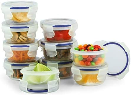 Popit! Baby Food Contenedores Set, 10 x 3 fl oz Contenedores ...