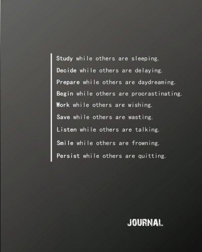 Quote Journal (Journal: Inspirational Positive Quote Bullet   Journal Dot Grid l Notebook (8