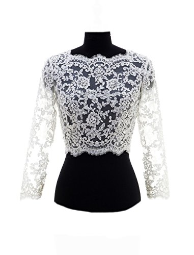 Lace And Beaded Jacket - 8