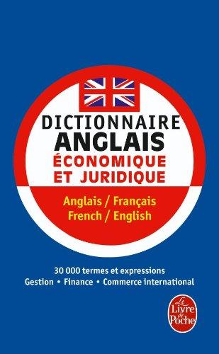 Dictionnaire De L Anglais Economique Et Juridique Livre De