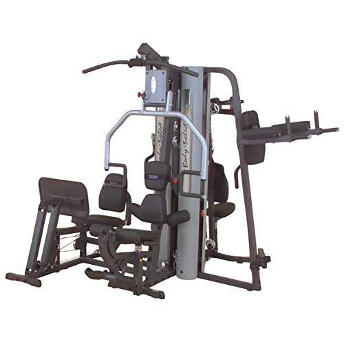 Body Solid G9S G-Series Two-Stack Gym with Multiple-Users Capability and Two 210-Pound Weight by Body-Solid