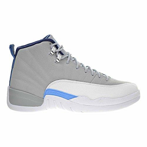 0c2b94b0f942 50%OFF Air Jordan 12 Retro Men s Shoes Wolf Grey University Blue White