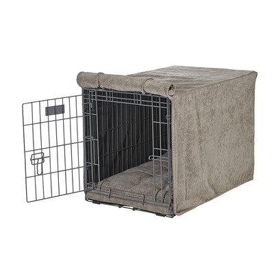 Bowsers 14941 Luxury Crate Cover, Cappuccino Treats, XX-Large