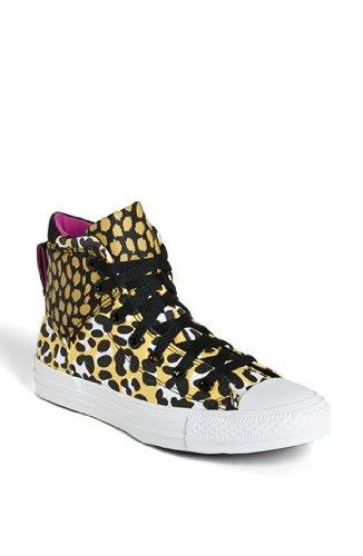 Leopard Print High Top - Converse Chuck Taylor All Star Hi Top Old Gold Womens 7