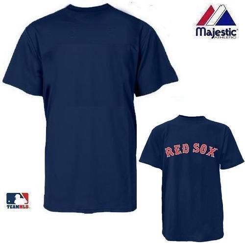 Boston Red Sox MLB Officially Licensed 100% Cotton Crewneck (Blank Back) Adult Medium
