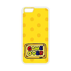 """Custom Colorful Case for Iphone6 Plus 5.5"""", Game Over Cover Case - HL-511917"""