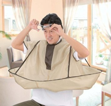 Easy to make haircut at home! for every person for all age group from child to elder: A Barber Cape at home (Japan Import)
