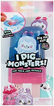 I Dig...Monsters Popsicle Pack - 1pc Collectable ASMR Toy   Fun & Cute Stress Relief Toy - Styles May
